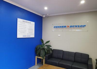 Commercial General Signs - Fenner Dunlop