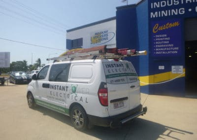 Instant Power Electrical vehicle signs
