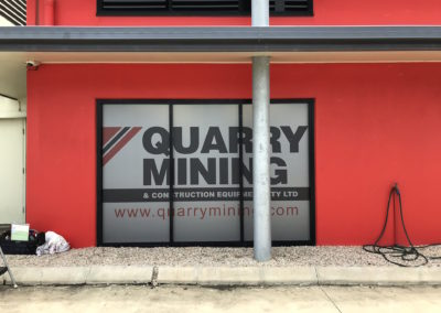 Commercial General Signs - Quarry Mining