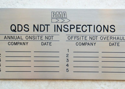 BMA-Engraved-Inspections-Sign